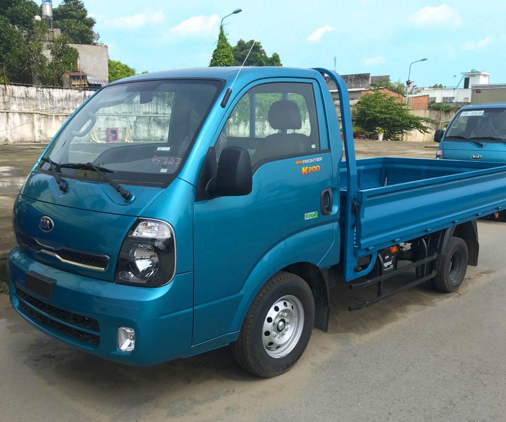 Xe tải nhẹ Thaco Kia K200 Thùng Lửng màu Xanh Dương