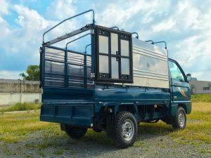 bên-trong-thùng-xe-tải-thaco-towner-800-thùng-bạt-xanh-dương
