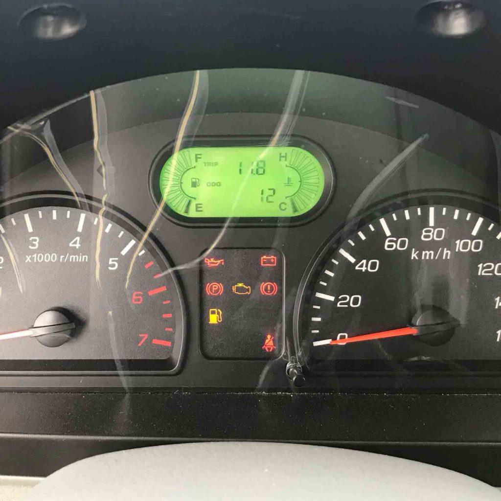 đồng hồ tablo của xe tải nhỏ thaco towner 990