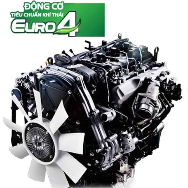 động cơ xe tải nhẹ thaco kia k250 D4CB-CRDi Euro 4