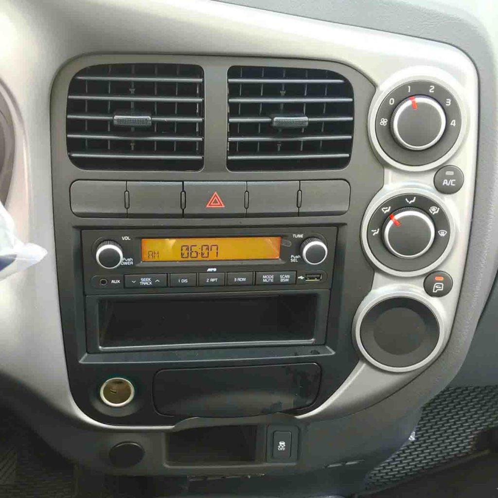 cụm điều khiển đa phương tiện xe xe tải nhẹ kia k250