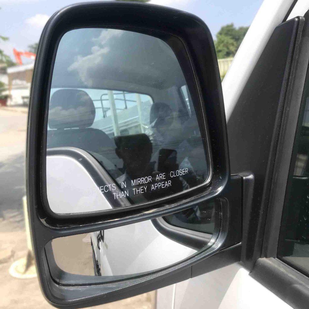 gương chiếu hậu xe tải nhẹ thaco kia k250