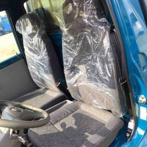 ghế nỉ trên xe tải nhỏ thaco towner 800