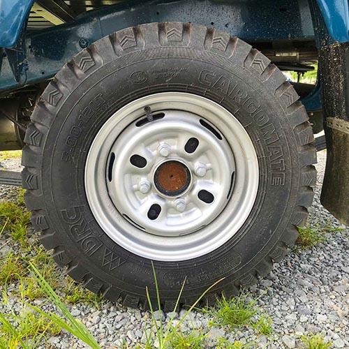 lốp sau xe tải nhỏ thaco towner 800