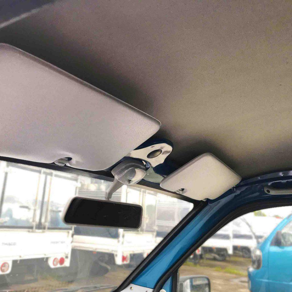 laphong trần màu kem xe tải nhỏ thaco towner 990
