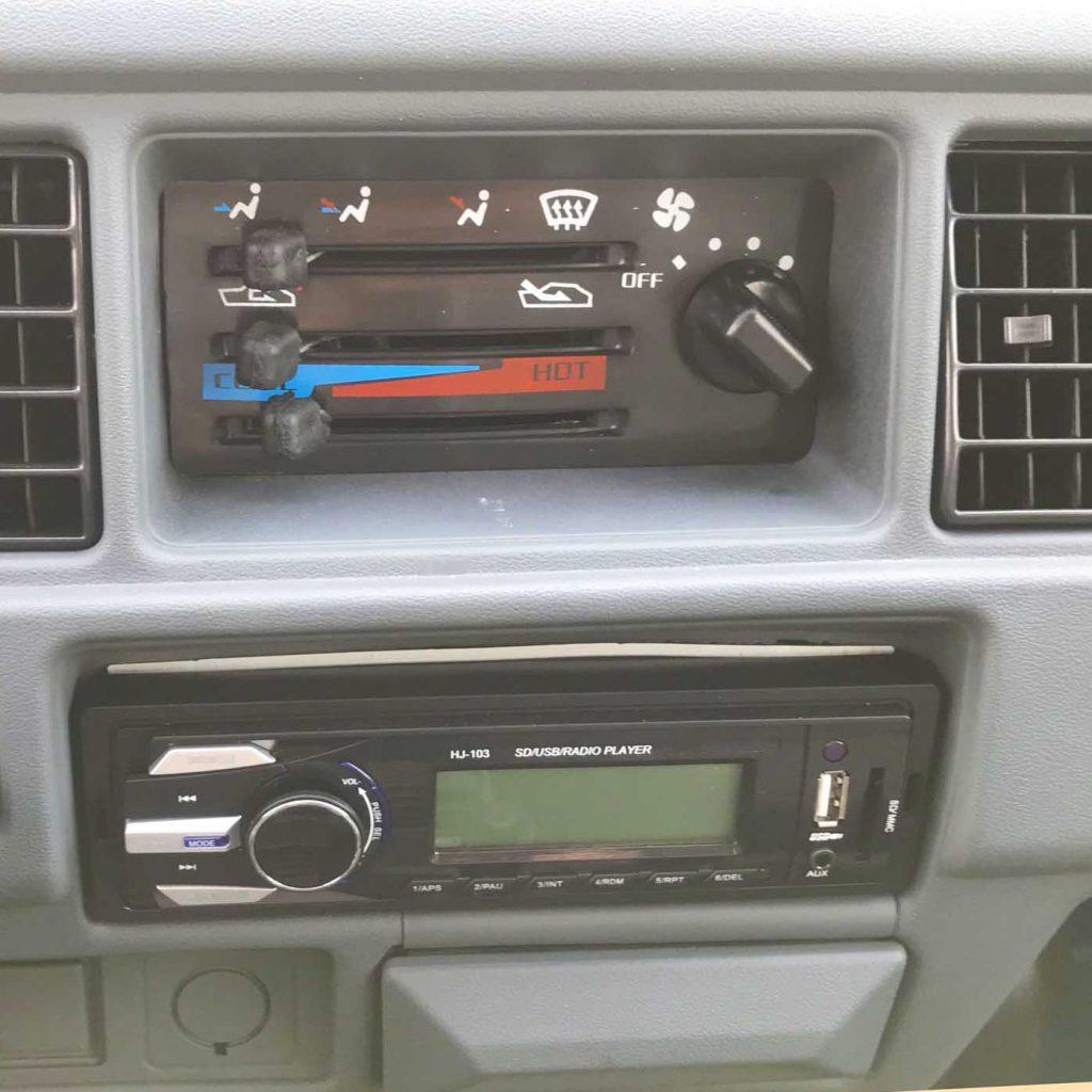 trung tâm điều khiển media xe tải nhỏ thaco towner 800