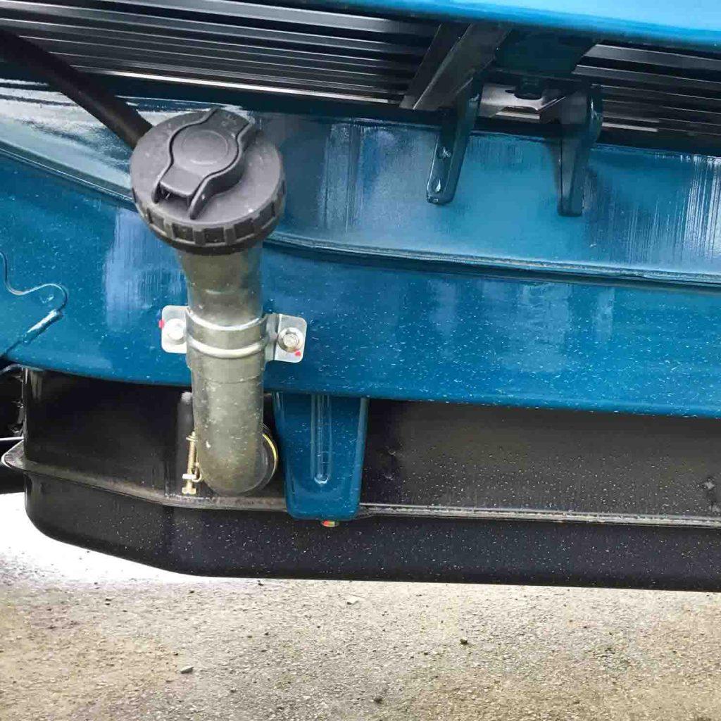 vị trí thùng nhiên liệu xe tải nhỏ thaco towner 990