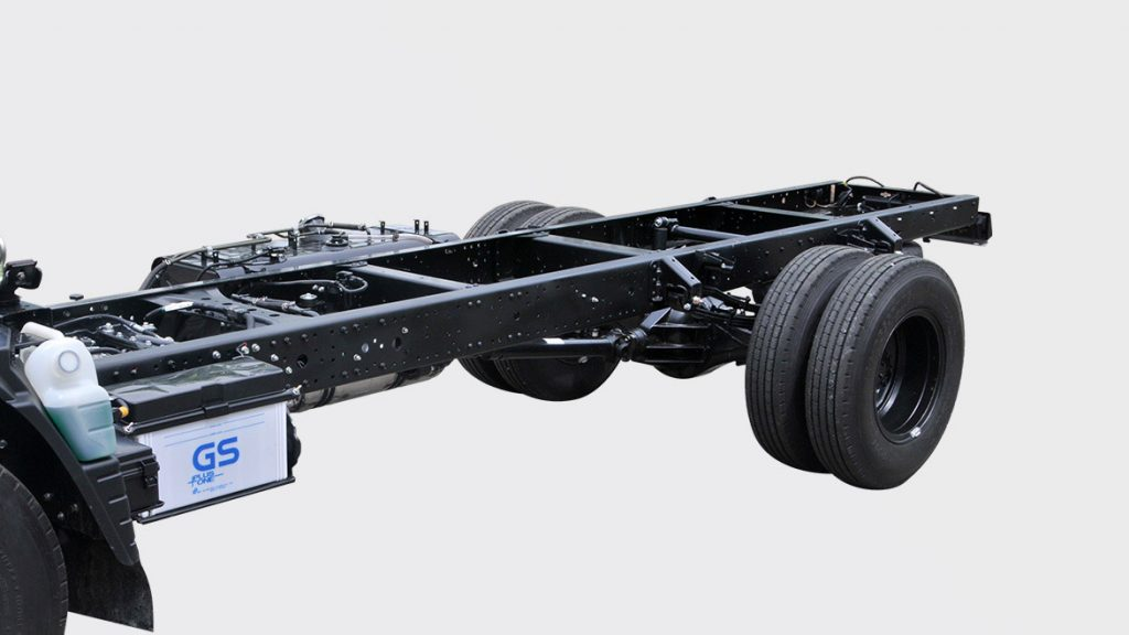 Chassis xe tải nhẹ thaco fuso canter 4.99