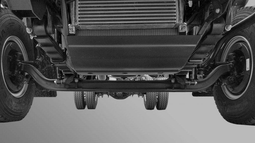 Hệ thống cân bằng xe tải mitsubishi fuso canter 10.4