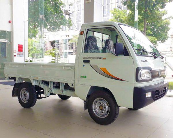 bên-hông-lơ-xe-tải-thaco-towner-800-thùng-lửng