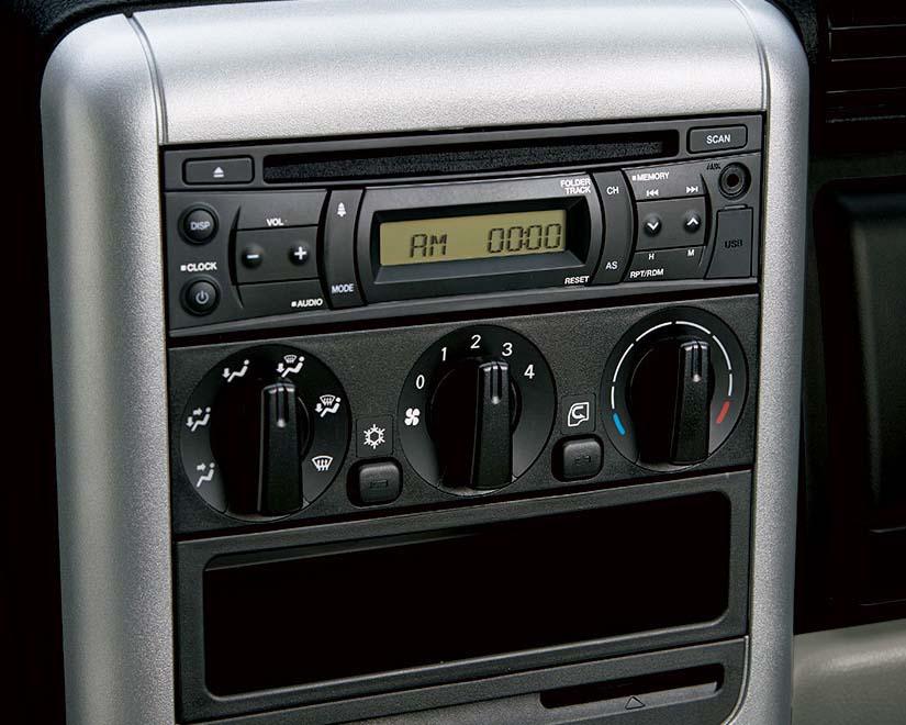 bảng điều khiển trung tâm xe tải nhẹ thaco fuso canter 4.99