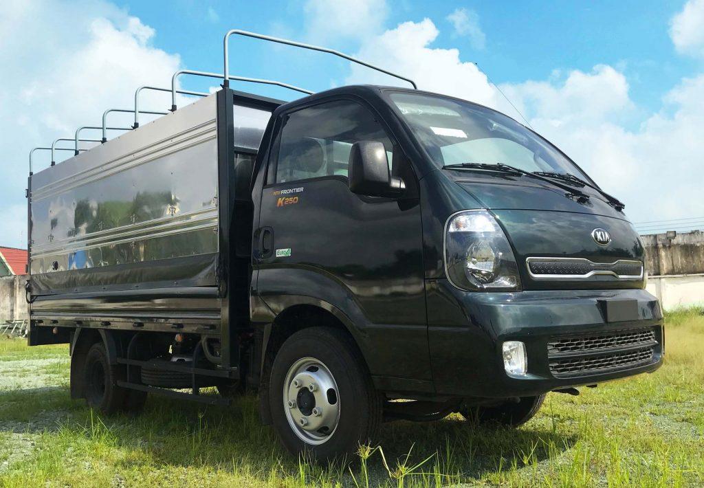 Xe-tải-2-tấn-Thaco-Kia-K250-Thùng-Bạt-Xanh-Rêu
