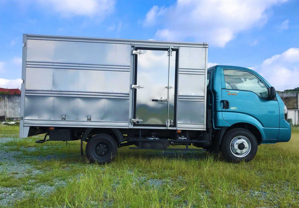 xe tải kia k250 thùng kín xanh dương