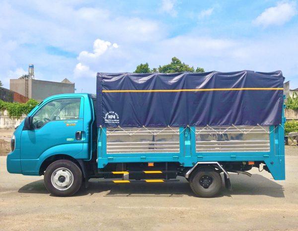 Xe tải Thaco Kia K250 Thùng Bạt Bửng Nâng