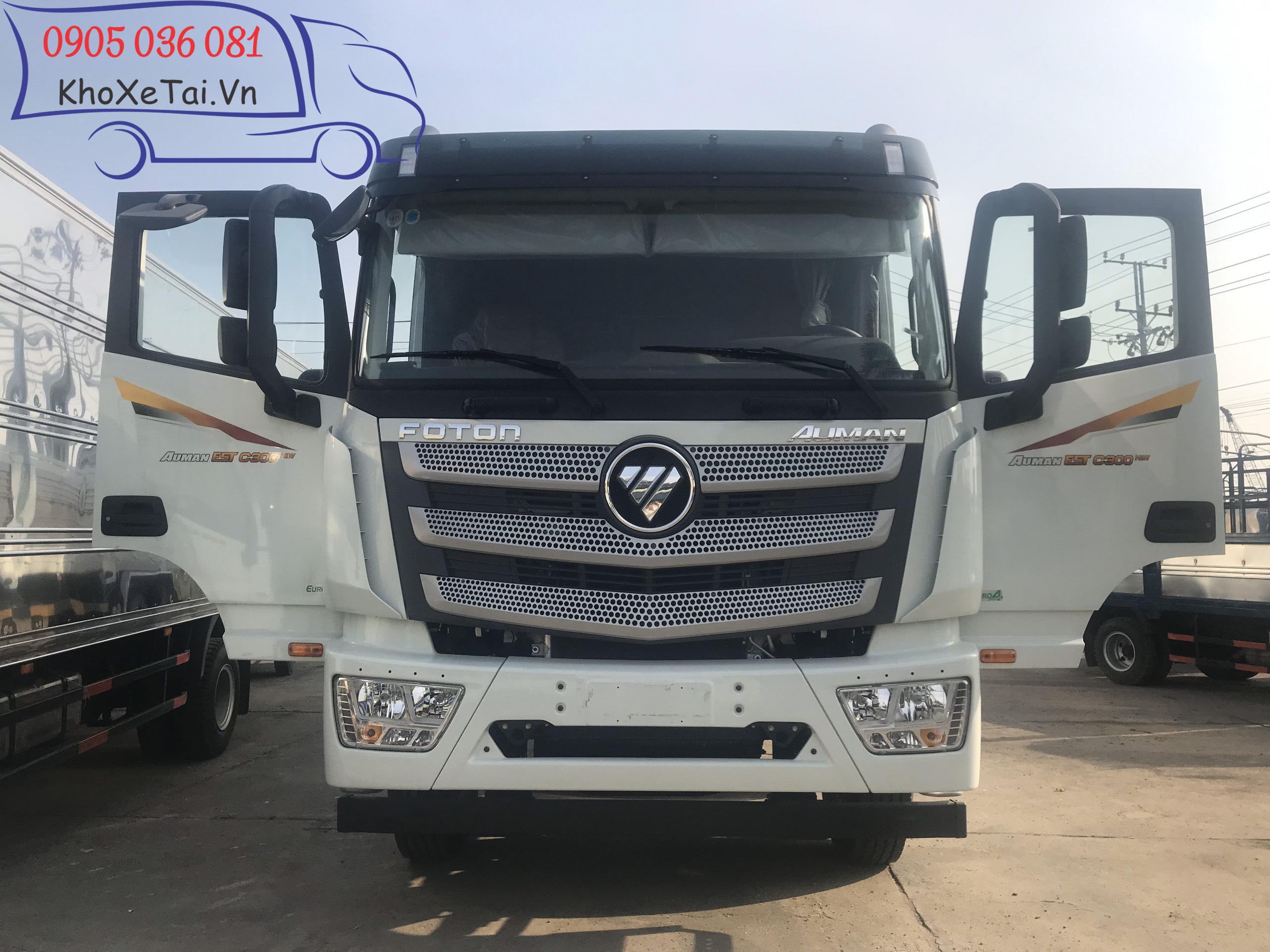Cabin xe tải Thaco Auman C300.E4