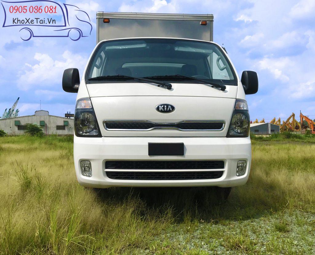 xe tải nhẹ Thaco Kia K200 tải trọng 1,9 tấn Thùng Kín màu trắng (6)